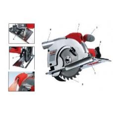 Пила циркулярная Einhell E-HKS 1500 Laser