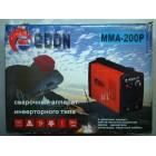 Инверторный сварочный аппарат ЕДОН MMA-200P
