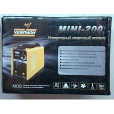 Сварочный аппарат MINI-200 ЧЕМПИОН