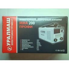 Сварочный аппарат ММА-200 профи УРАЛМАШ
