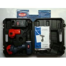 Шуруповерт аккумуляторный CAS-12AM CRAFT